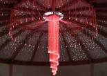 Fiber optic chandelier 17-1