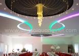 Fiber optic chandelier 17-2