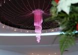 Fiber optic chandelier 17-4