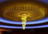 Fiber optic chandelier 17-6