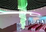 Fiber optic chandelier 17-7