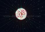 Fiber optic chandelier 17-8