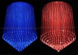 Fiber optic chandelier 18-4