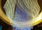 Fiber optic chandelier 2