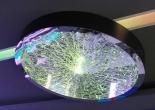 Fiber optic chandelier 22-5