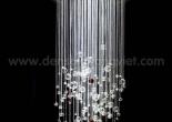 Fiber optic chandelier 25-1