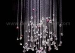 Fiber optic chandelier 25-2
