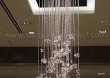 Fiber optic chandelier 25-3