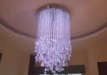 Fiber optic chandelier 26-2