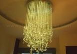 Fiber optic chandelier 26-3