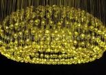 Fiber optic chandelier 27-6
