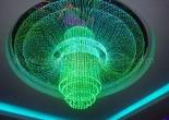 Fiber optic chandelier 3-1