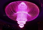 Fiber optic chandelier 3