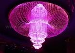 Fiber optic chandelier 3-2