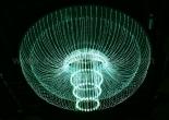 Fiber optic chandelier 3-4