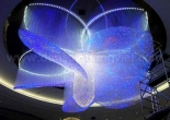 Fiber optic chandelier 30-6