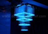 Fiber optic chandelier 34-1