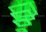 Fiber optic chandelier 34-4