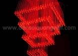 Fiber optic chandelier 34-5