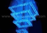 Fiber optic chandelier 34-6