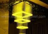 Fiber optic chandelier 34-7