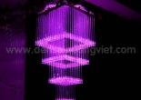 Fiber optic chandelier 34-8