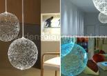 Fiber optic chandelier 36-1
