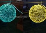 Fiber optic chandelier 36-2