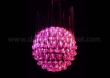 Fiber optic chandelier 4-1