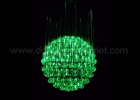 Fiber optic chandelier 4