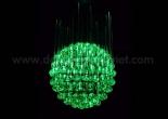 Fiber optic chandelier 4-2