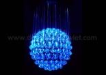 Fiber optic chandelier 4-3