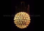 Fiber optic chandelier 4-4