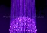 Fiber optic chandelier 4-5