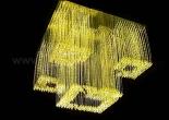 Fiber optic chandelier 5-1