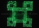 Fiber optic chandelier 5-7
