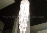 Fiber optic chandelier 6-4