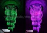 Fiber optic chandelier 6-5