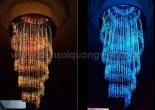 Fiber optic chandelier 6-6