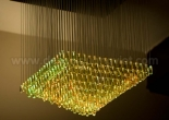 Fiber optic chandelier 7-8
