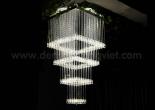 Fiber optic chandelier 8-1