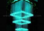 Fiber optic chandelier 8-4
