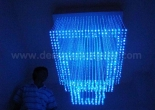 Fiber optic chandelier 8-6