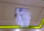 Fiber optic chandelier 8-8