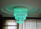 Fiber optic chandelier 9