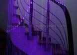 Fiber optic curtain 25