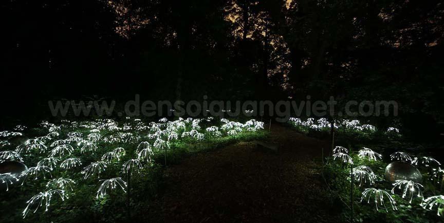 Fiber Optic Garden Lights Photos