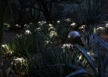Fiber optic garden light 10-1