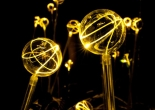 Fiber optic garden light 10