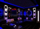 Karaoke star ceiling